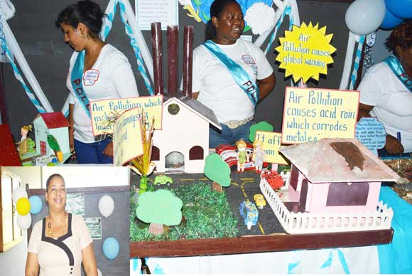 Berbice teachers host instructional materials exhibition at UGBC