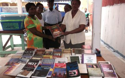Supporting the literacy and numeracy program in the Prison institution